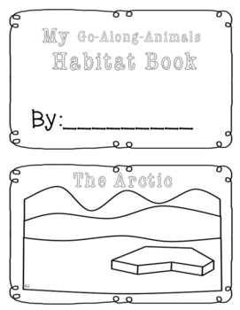 My Go-Along-Animals Habitat Booklet