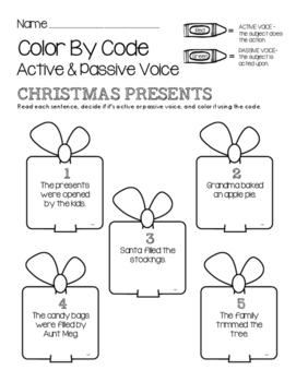 christmas-color-by-code-active-and-passive-voice