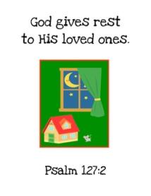Goodnight Moon Bible Verse