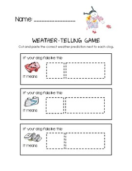 Weather-Telling Game